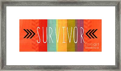 Survivor Framed Print