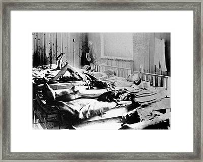 Survivors Of The Atom Bomb Framed Print by Universal History Archive/uig