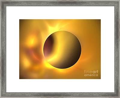 Surya Framed Print by Kim Sy Ok