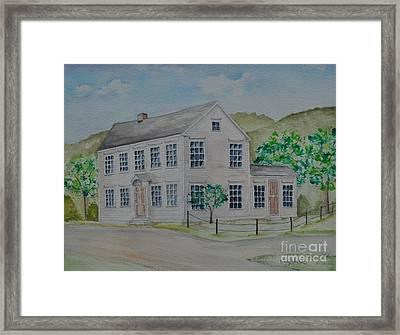 Susan B. Anthony Birthplace Framed Print by Sally Rice