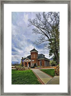 Susan B. Anthony Chapel Framed Print