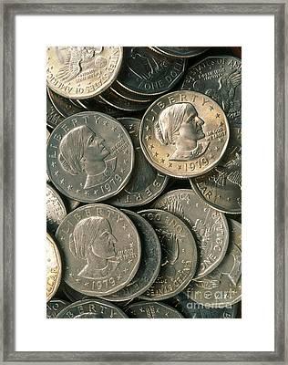 Susan B. Anthony Dollar Framed Print