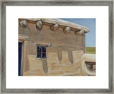 Susan Magoffin's Quarters La Junta Co Framed Print by David  Llanos