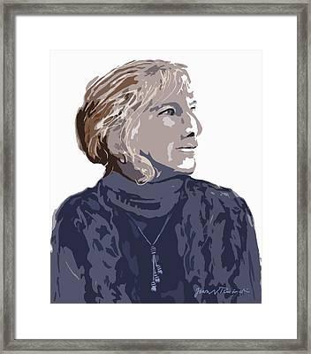 Susan R. Framed Print