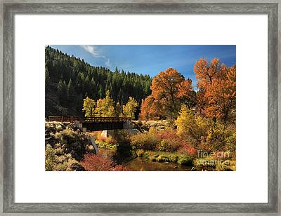 Susan River Bridge On The Bizz 2 Framed Print