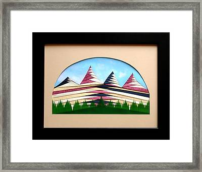 Framed Print featuring the mixed media Sushi by Ron Davidson