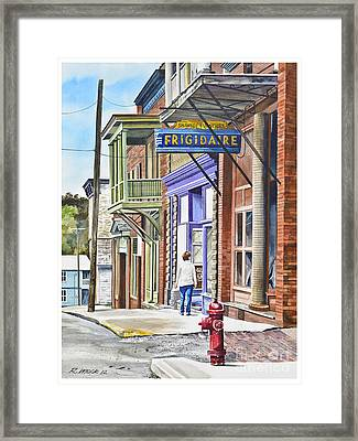 Susie In Shawnee Framed Print by Rick Mock