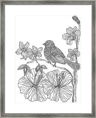 Susie Framed Print by Valentina Harper
