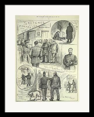 Criminal Investigation Framed Prints