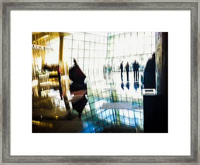 Framed Print featuring the photograph Suspended In Light by Alex Lapidus