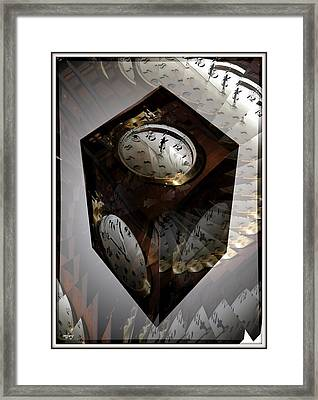 Suspended In Time Framed Print by Martin Jay