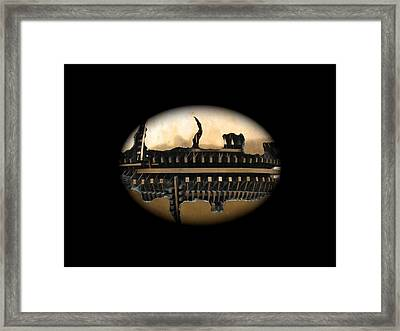 Suspended Framed Print by Pat Edwards