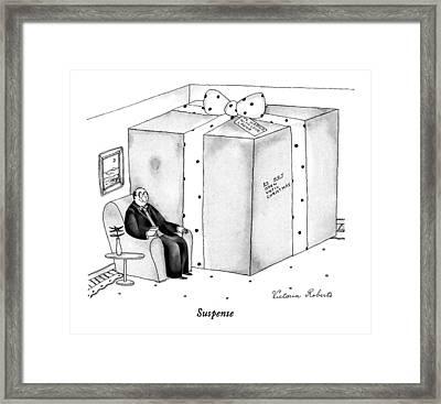 Suspense Framed Print
