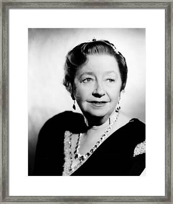 Suspicion, Dame May Whitty, 1941 Framed Print by Everett