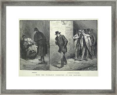 Suspicious Characters Framed Print by British Library
