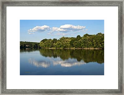 Susquehanna River Framed Print by Christina Rollo