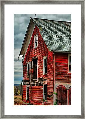 Sussex Barn  Framed Print
