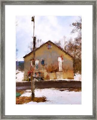 Sussex County Nj Framed Print by H James Hoff