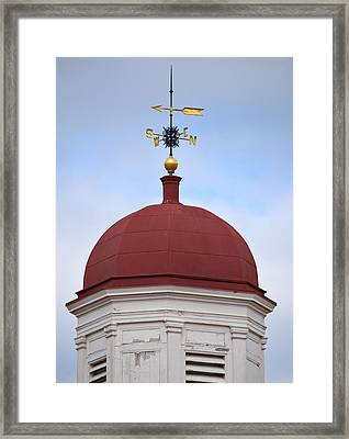 Sussex County Old Courthouse Framed Print by Steven Richman