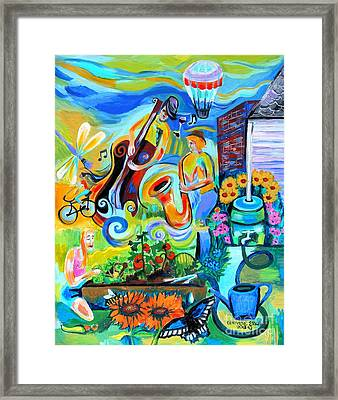 Dogtown Street Musicians Festival Framed Print by Genevieve Esson