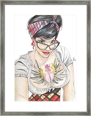 Susy Babi Azevedo Framed Print