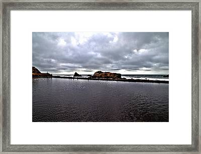 Sutro Baths Pool Framed Print