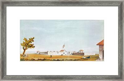 Sutter's Fort, 1847 Framed Print by Granger