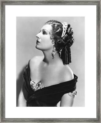 Sutters Gold, Binnie Barnes, 1936 Framed Print