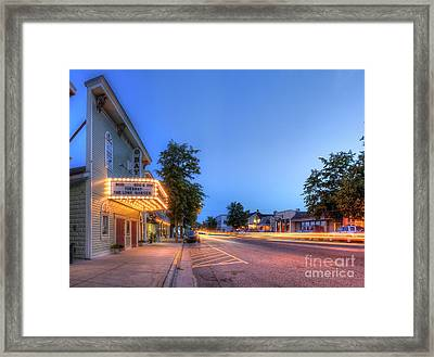 Sutton's Bay Evening Framed Print