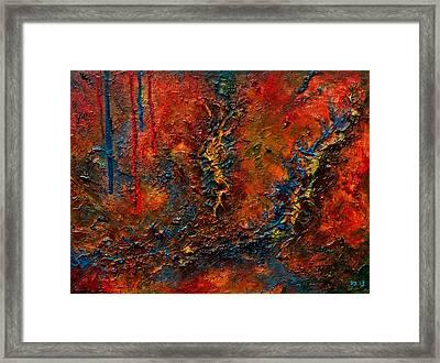 Sutures Framed Print