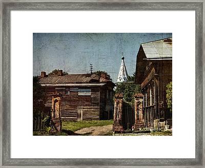 Suzdal Street Framed Print