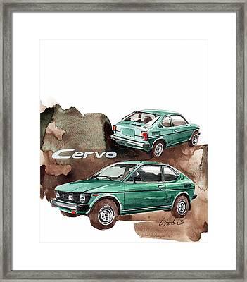 Suzuki Cervo Framed Print by Yoshiharu Miyakawa
