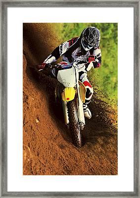 Suzuki Hill Climb 2 Framed Print