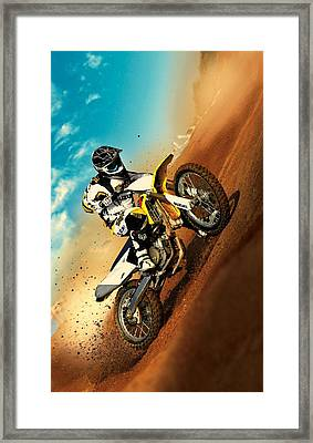 Suzuki Hill Climb Framed Print by Movie Poster Prints
