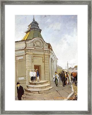 Svetlanskaya Street Framed Print by Jake Hartz