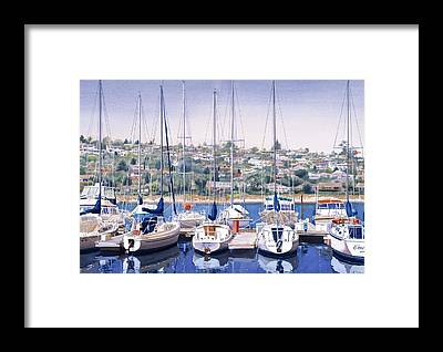 Yacht Framed Prints