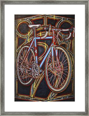 Swallow Bespoke Bicycle Framed Print
