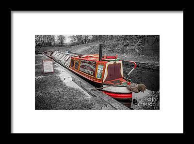 Narrow Boat Framed Prints