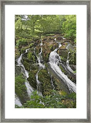 Swallow Falls Framed Print by Jane McIlroy