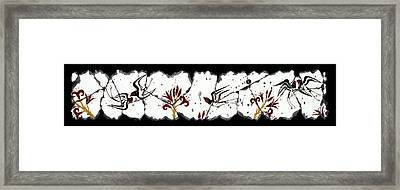 Swallows With Lilies No. 5 Framed Print