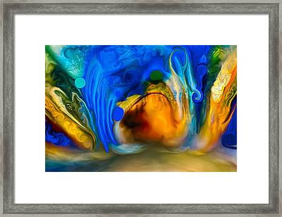 Swamp Creatures Framed Print by Omaste Witkowski