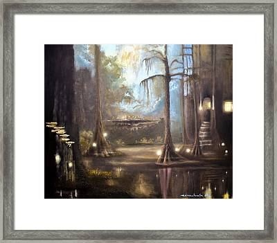 Swamp Life Framed Print