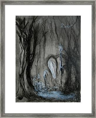 Swamp Shaman Framed Print