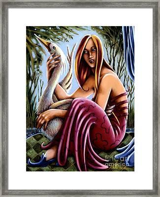 Swamp Song Framed Print
