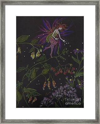 Swamp Walk Framed Print by Dawn Fairies