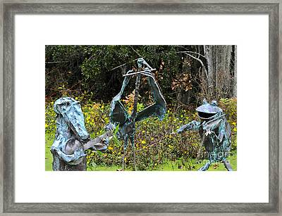 Swampland Critter Band 1 Framed Print