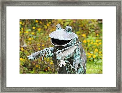Swampland Critter Band 4 Framed Print