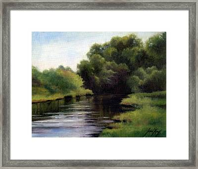 Swan Creek Framed Print