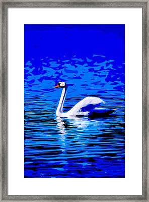 Swan Lake 2 Framed Print