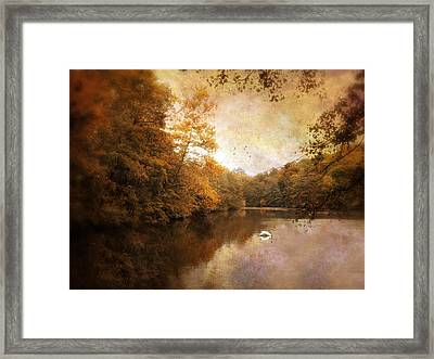 Swan Song Framed Print by Jessica Jenney